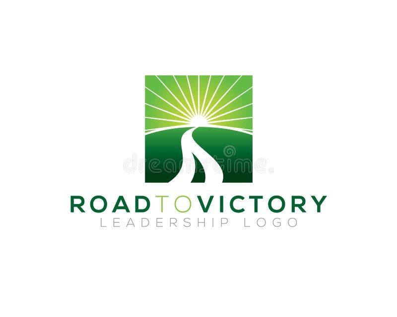 Estrada à vitória ilustração do vetor