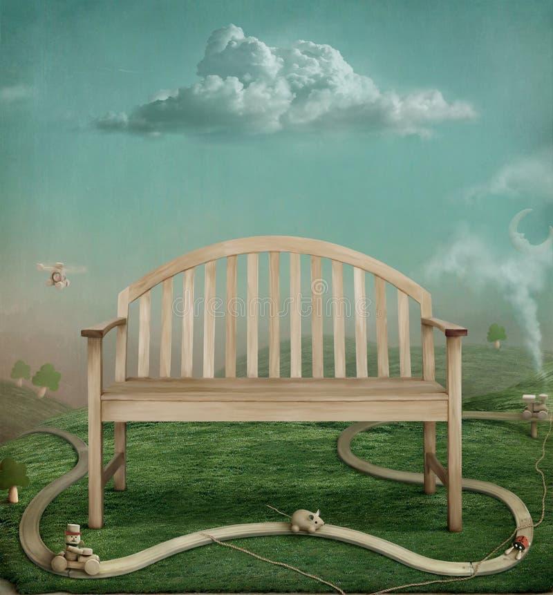 Download Estrada ilustração stock. Ilustração de sonho, arte, família - 10054003