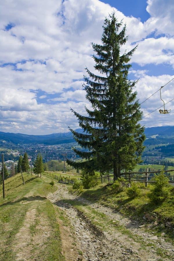 Download A estrada imagem de stock. Imagem de monte, sujeira, ambiente - 26522267