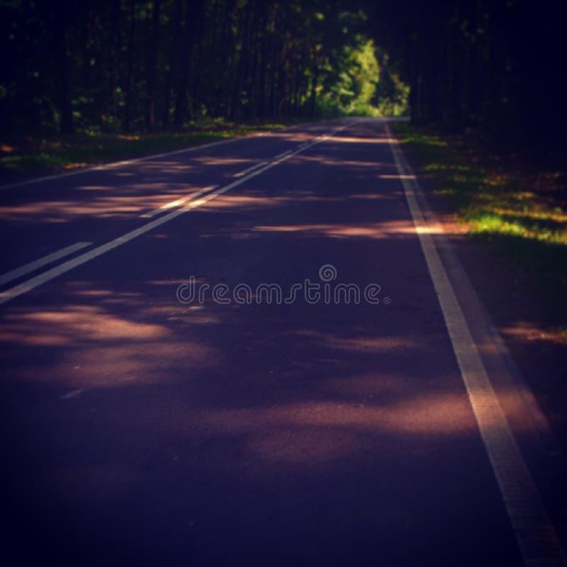 Estrada fotografia de stock