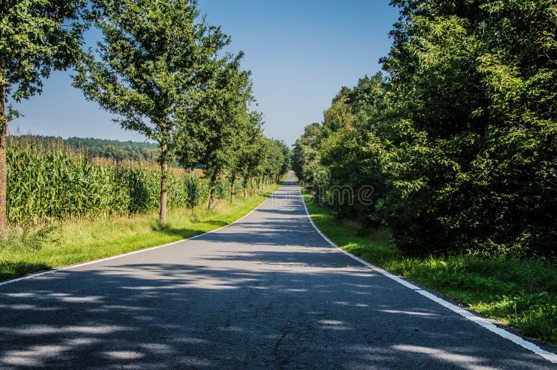 A estrada a Alemanha imagem de stock