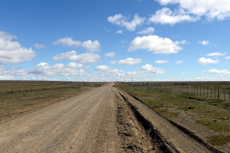 A estrada ao aike de Pali do parque nacional foto de stock royalty free