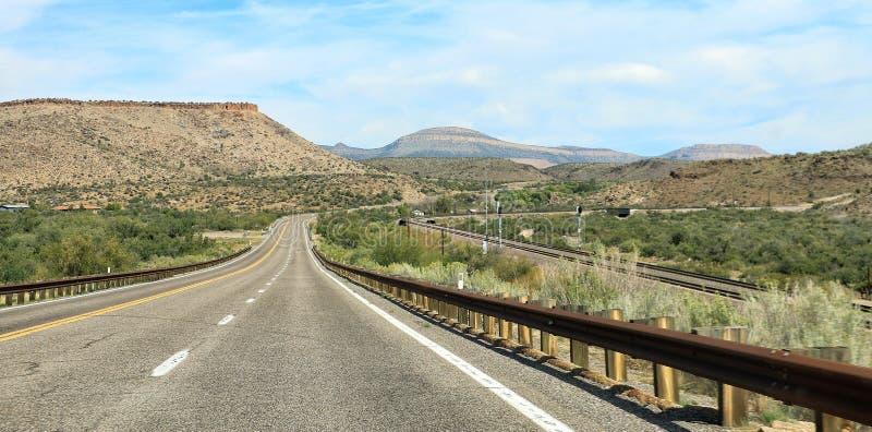 Estrada ao vale do monumento foto de stock