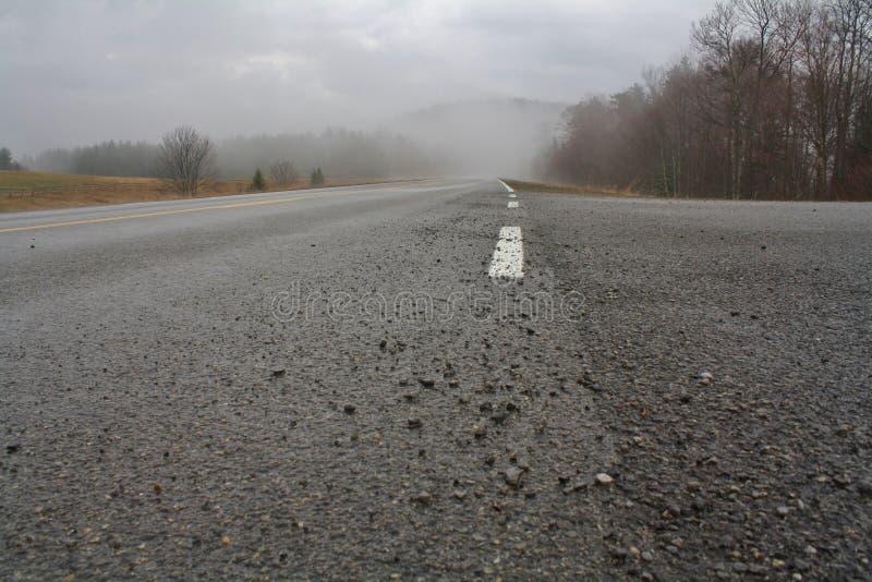 Estrada cênico 150 das montanhas foto de stock