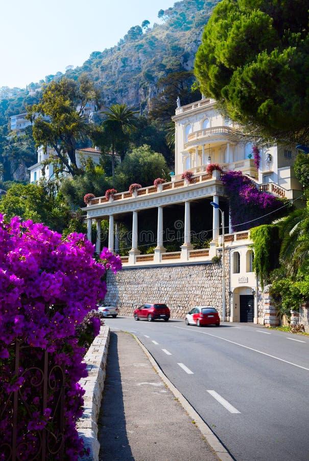 Estrada da arte em Provence imagens de stock