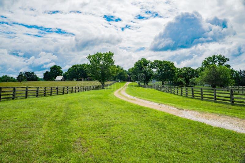 Estrada da fase de Richmond e de Lynchburg imagens de stock royalty free