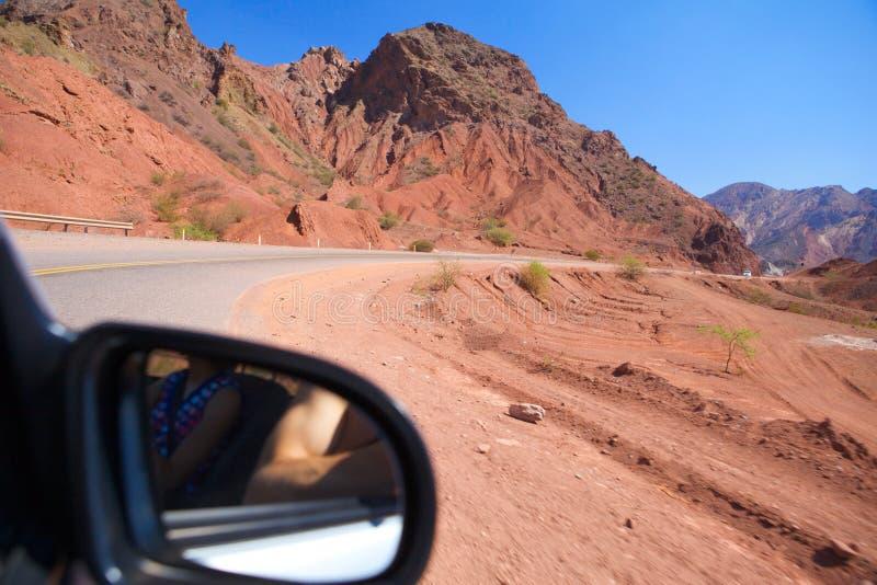 Estrada da montanha. imagens de stock