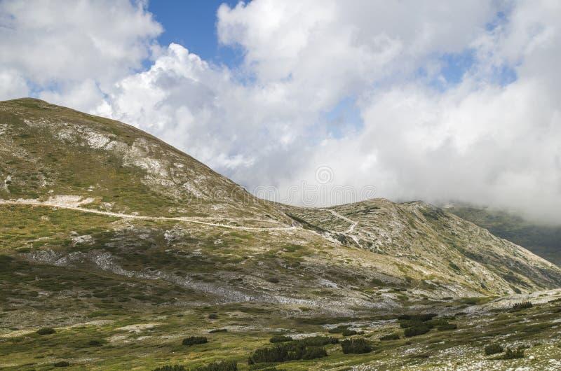 Estrada de Ðœountain fotografia de stock