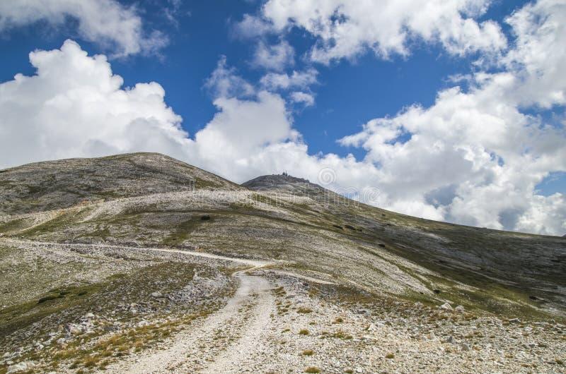 Estrada de Ðœountain imagens de stock