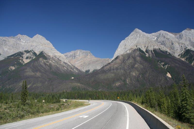 Estrada de Canadá imagem de stock