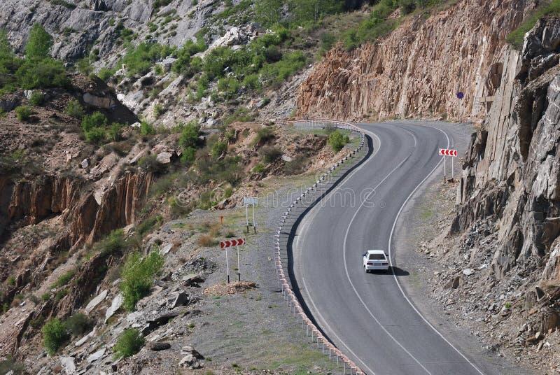Estrada de Chuia, Altai, Rússia imagem de stock royalty free
