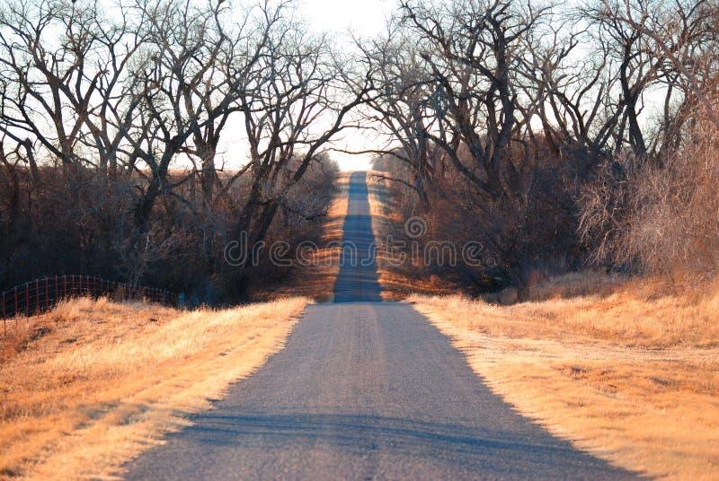 Estrada de Counrty imagem de stock