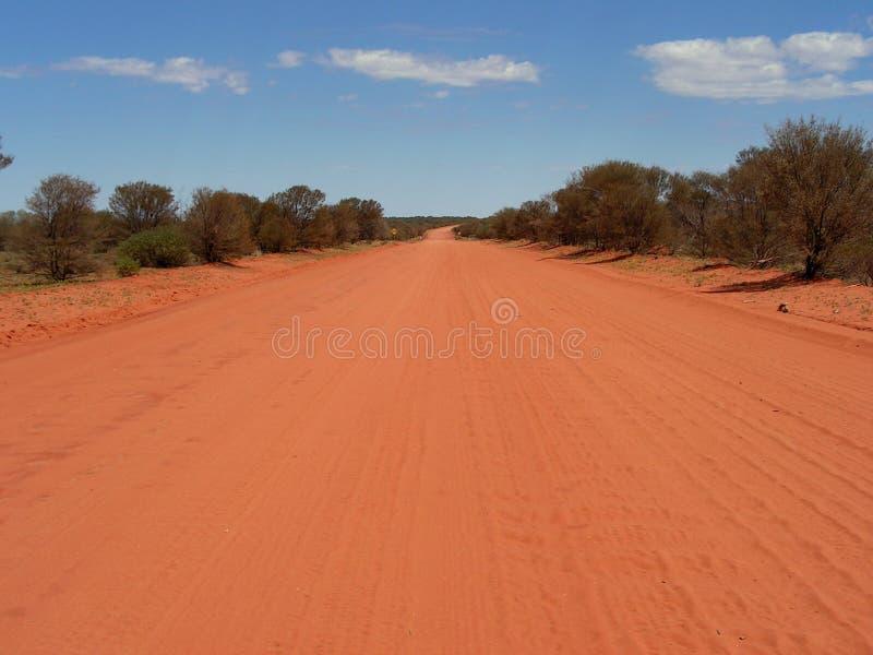 Estrada de Ernest Giles foto de stock