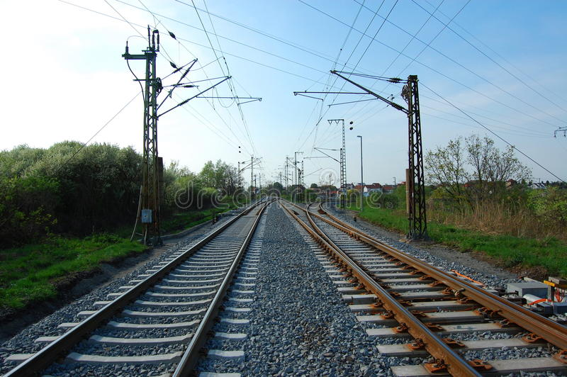Download Estrada de ferro foto de stock. Imagem de urbano, transferência - 10056152