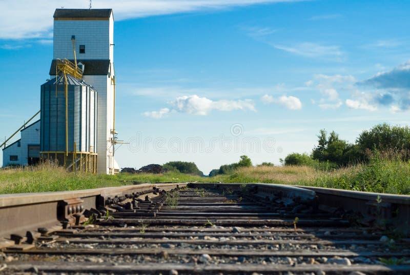 Estrada de ferro foto de stock