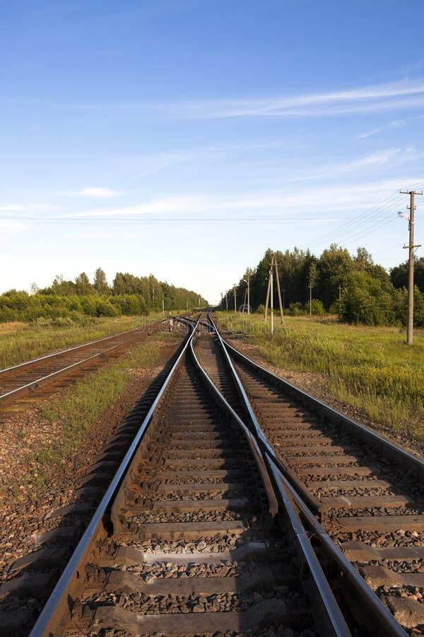 A estrada de ferro imagens de stock royalty free