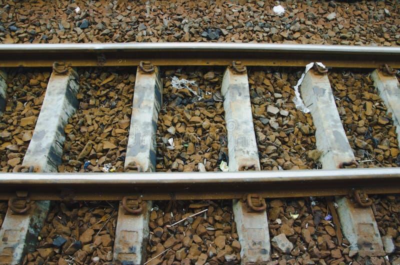 Estrada de ferro, aço fotografia de stock royalty free
