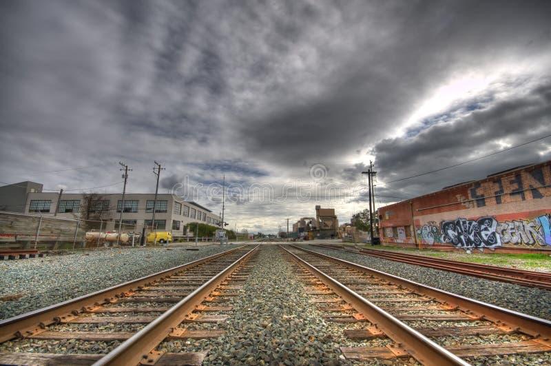 Estrada de ferro de Amtrak em Berkeley imagem de stock royalty free