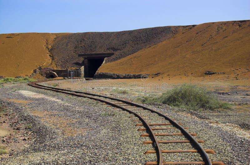 Estrada de ferro de mineração de Moonta imagem de stock royalty free
