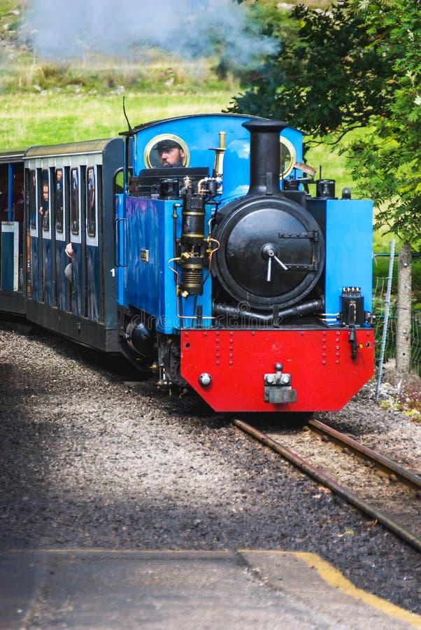 Estrada de ferro do vapor de Ravenglass & de Eskdale fotos de stock