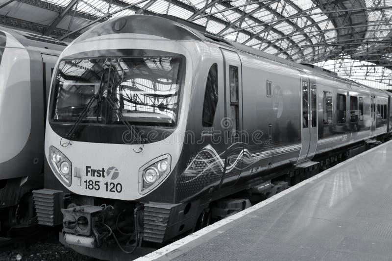 Estrada de ferro em Reino Unido foto de stock
