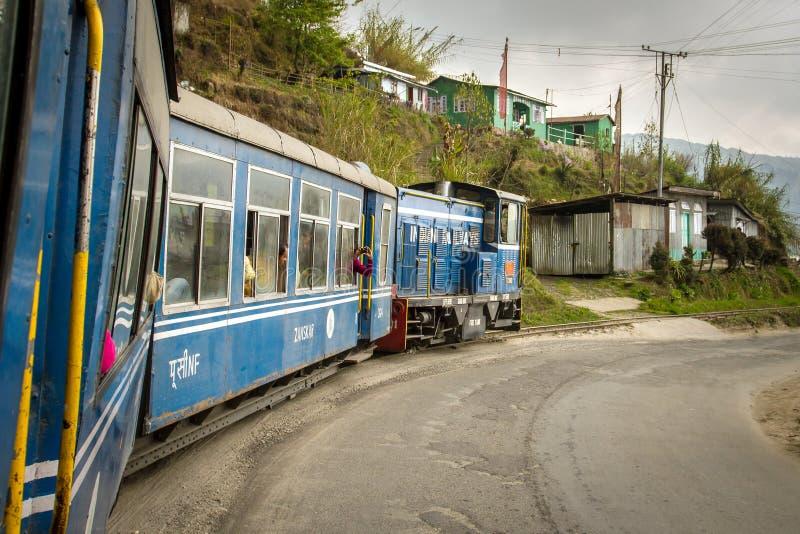 A estrada de ferro famosa de construção inglesa da montanha foto de stock