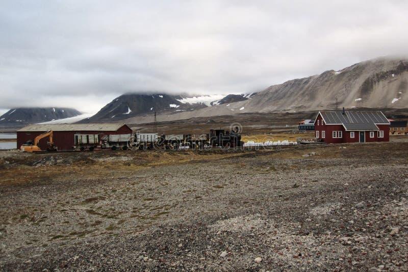 Estrada de ferro de mineração fotos de stock royalty free