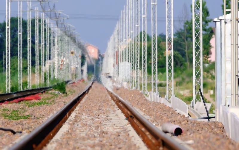 Estrada de ferro quente fotos de stock royalty free
