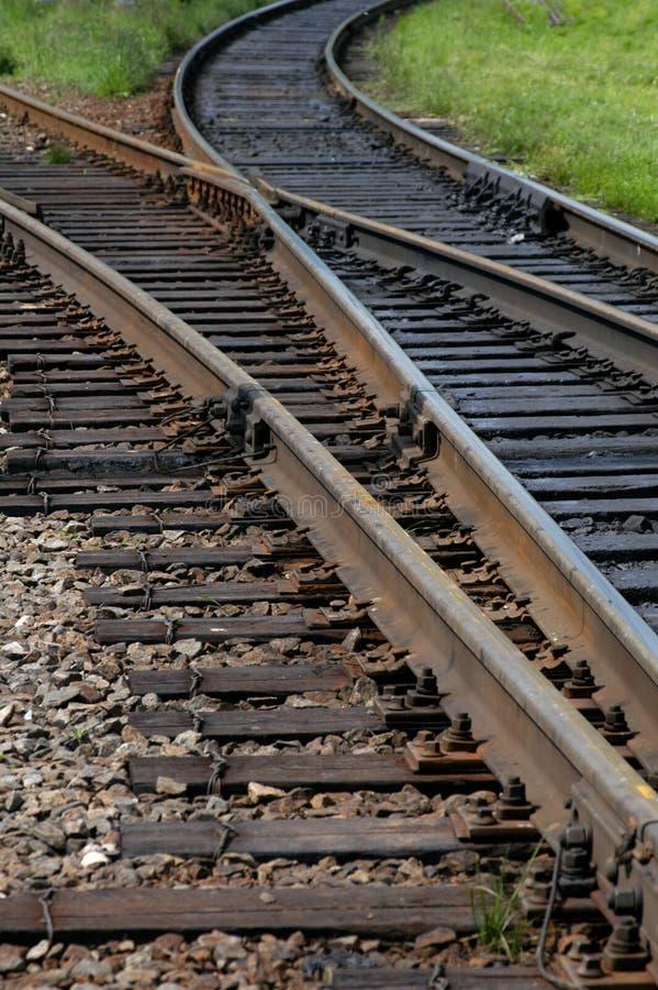 Estrada de ferro transiberiana fotos de stock royalty free
