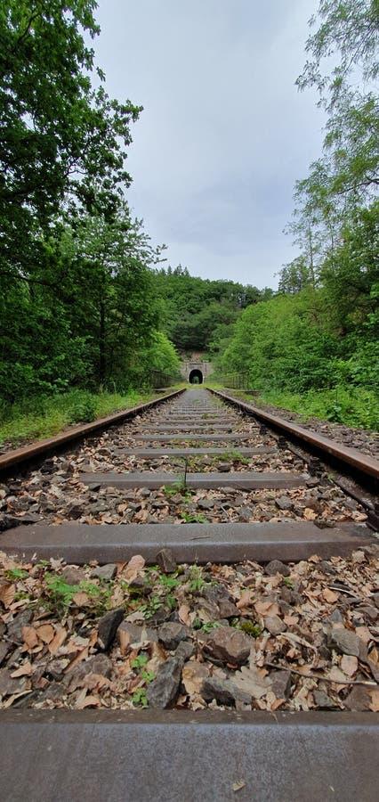 A estrada de ferro velha fotos de stock