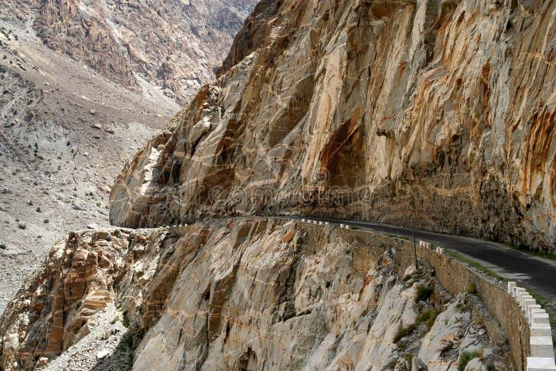 Estrada de Karakorum fotos de stock