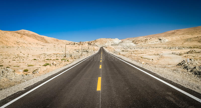 Estrada de Karakorum foto de stock