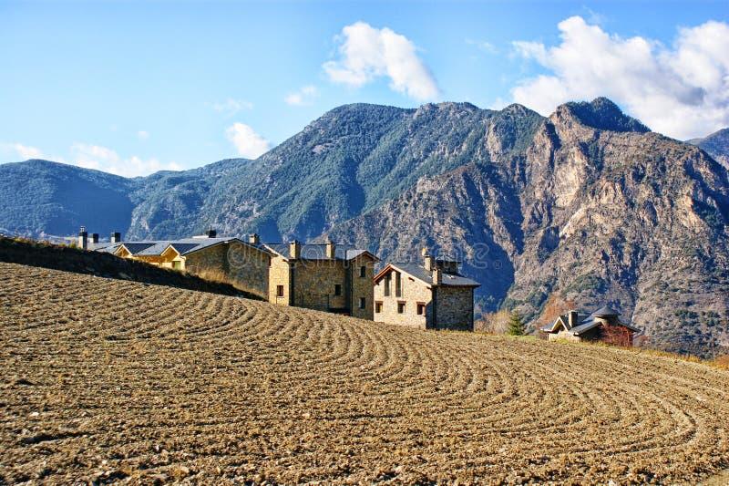 Estrada de Rebassa do La - Andorra foto de stock royalty free