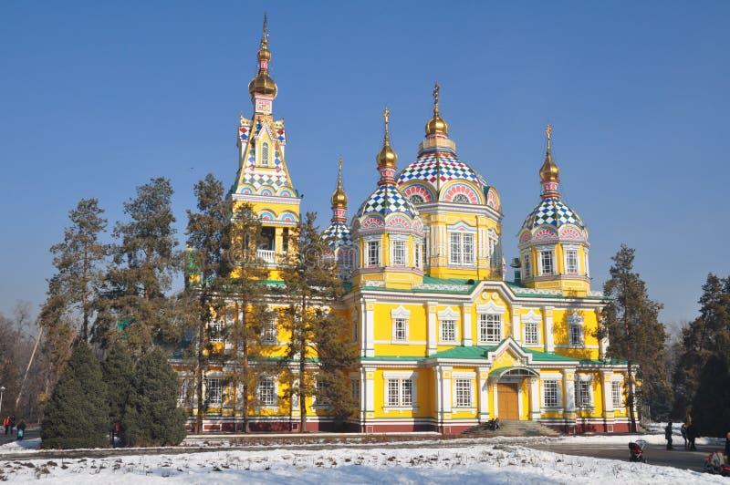 Estrada de seda Almaty sightseeing fotos de stock royalty free
