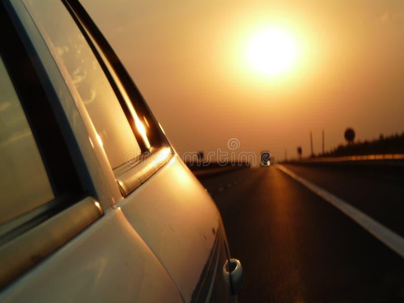 Estrada de Sun imagem de stock royalty free