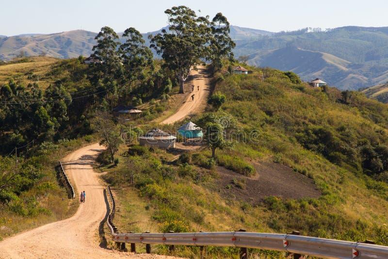 Estrada de terra - Kwazulu Natal imagens de stock royalty free