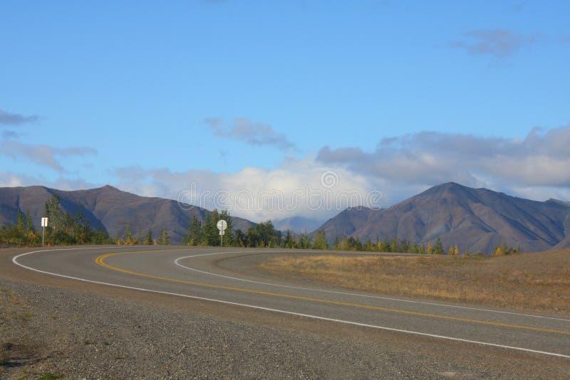 Estrada do Alasca cénico fotos de stock royalty free
