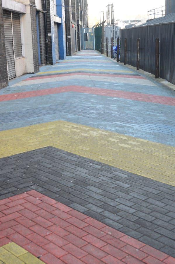 Estrada do arco-íris fotos de stock