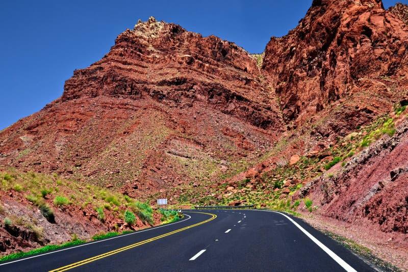 Estrada do Arizona foto de stock