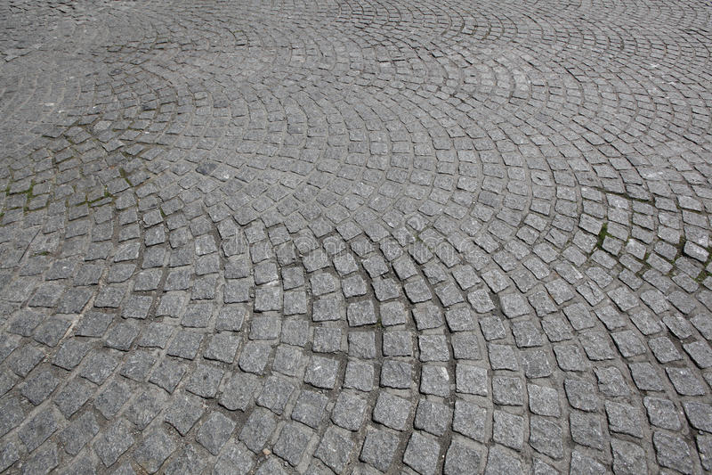 Estrada do Cobblestone imagem de stock royalty free