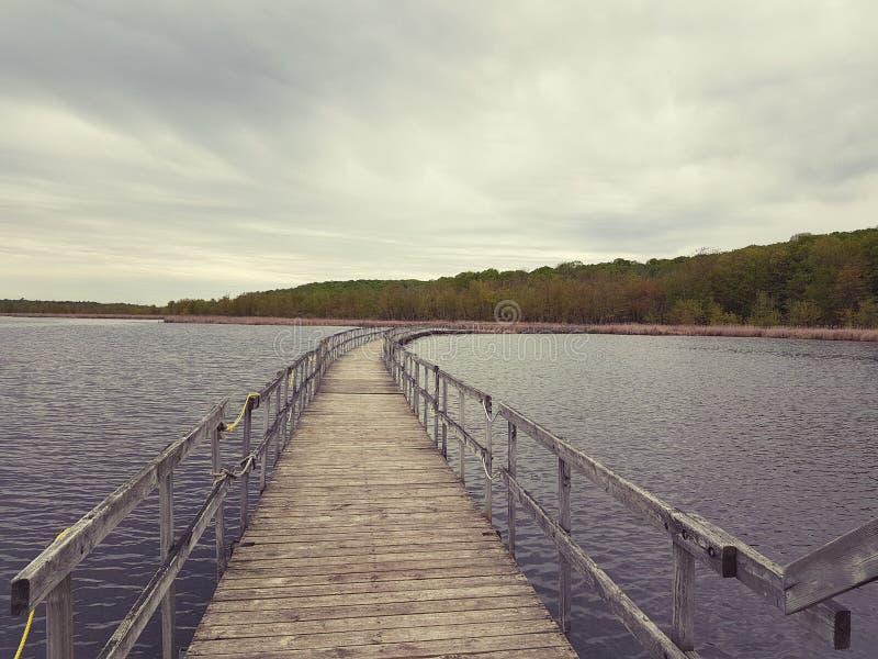 Estrada do lago imagens de stock royalty free