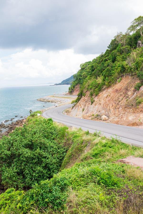 Estrada do mar foto de stock royalty free