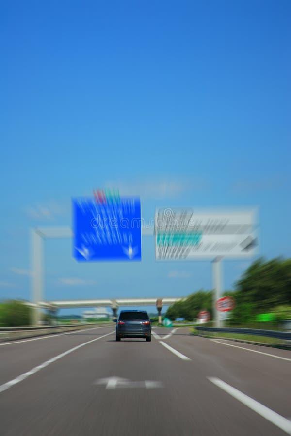 Estrada do país foto de stock