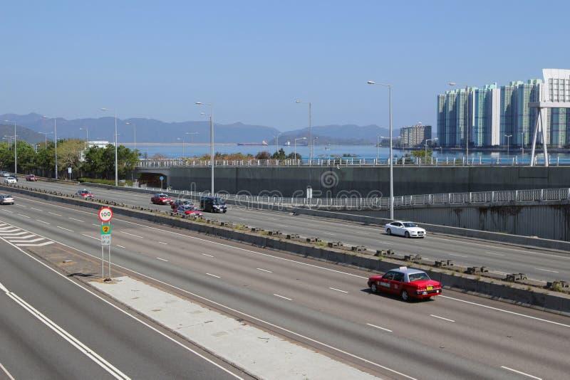 Estrada do porto de Tolo imagens de stock royalty free