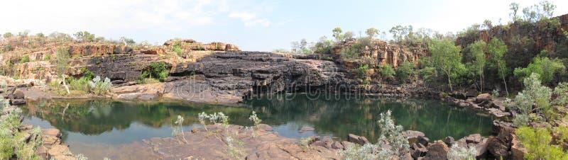 Estrada do rio de Gibb, kimberley, Austrália Ocidental fotografia de stock