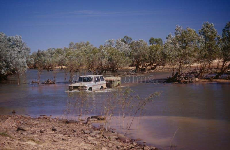 Estrada do rio de Gibb no Kimberley fotos de stock