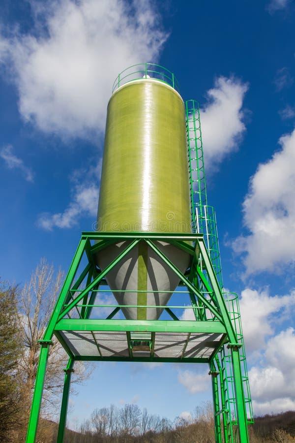 Estrada do silo imagens de stock