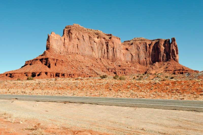 Estrada do vale do monumento imagem de stock