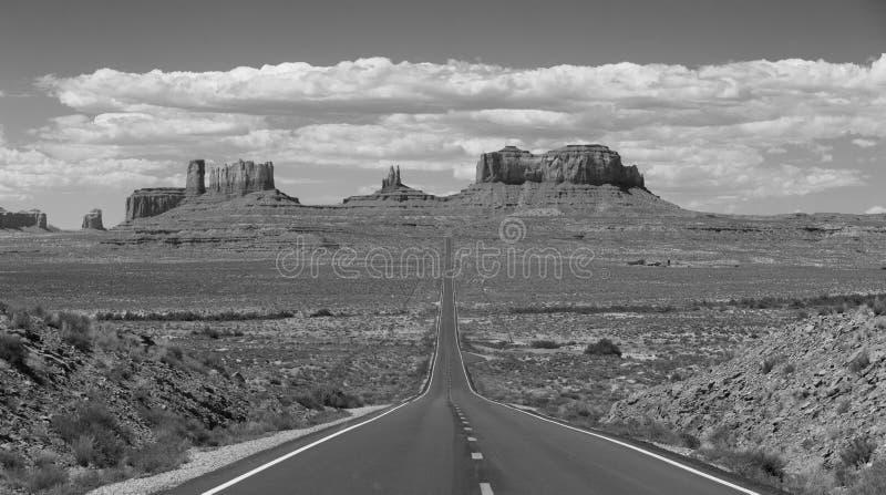Estrada do vale do monumento fotos de stock