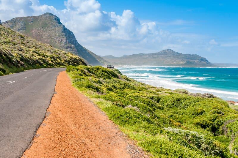 Estrada em África do Sul fotografia de stock royalty free